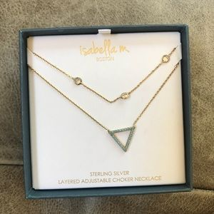 *NWT* Adjustable Choker Isabella m. Necklace